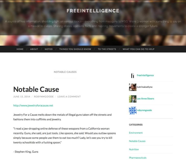 FreeIntelligenceBlog