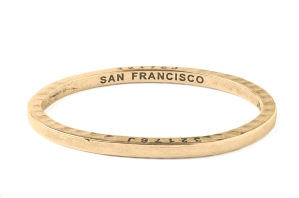 San Francisco Caliber_Brass Bangle