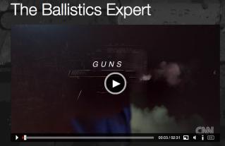 ballistics expert